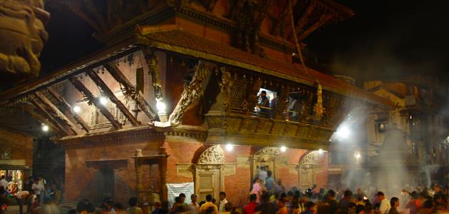 Bhimsenthan in Mangal Bazar in Patan