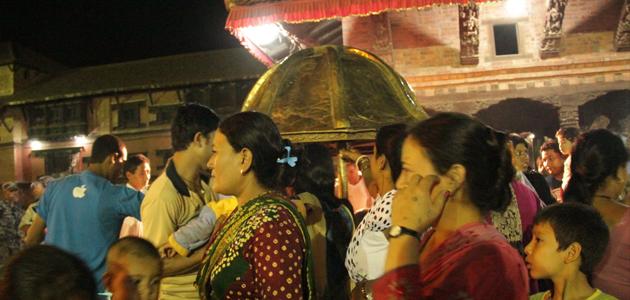 Bhimsen chariot in Mangal Bazar