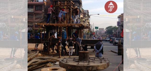 Rato Machindranaath Chariot 2014
