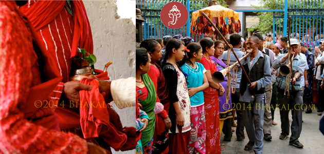 Rato Machindranath is brought to Kathmandu
